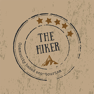 Hiker - Logo for the Travel Agency