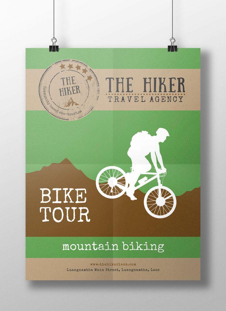The Hiker - poster jungle adventure