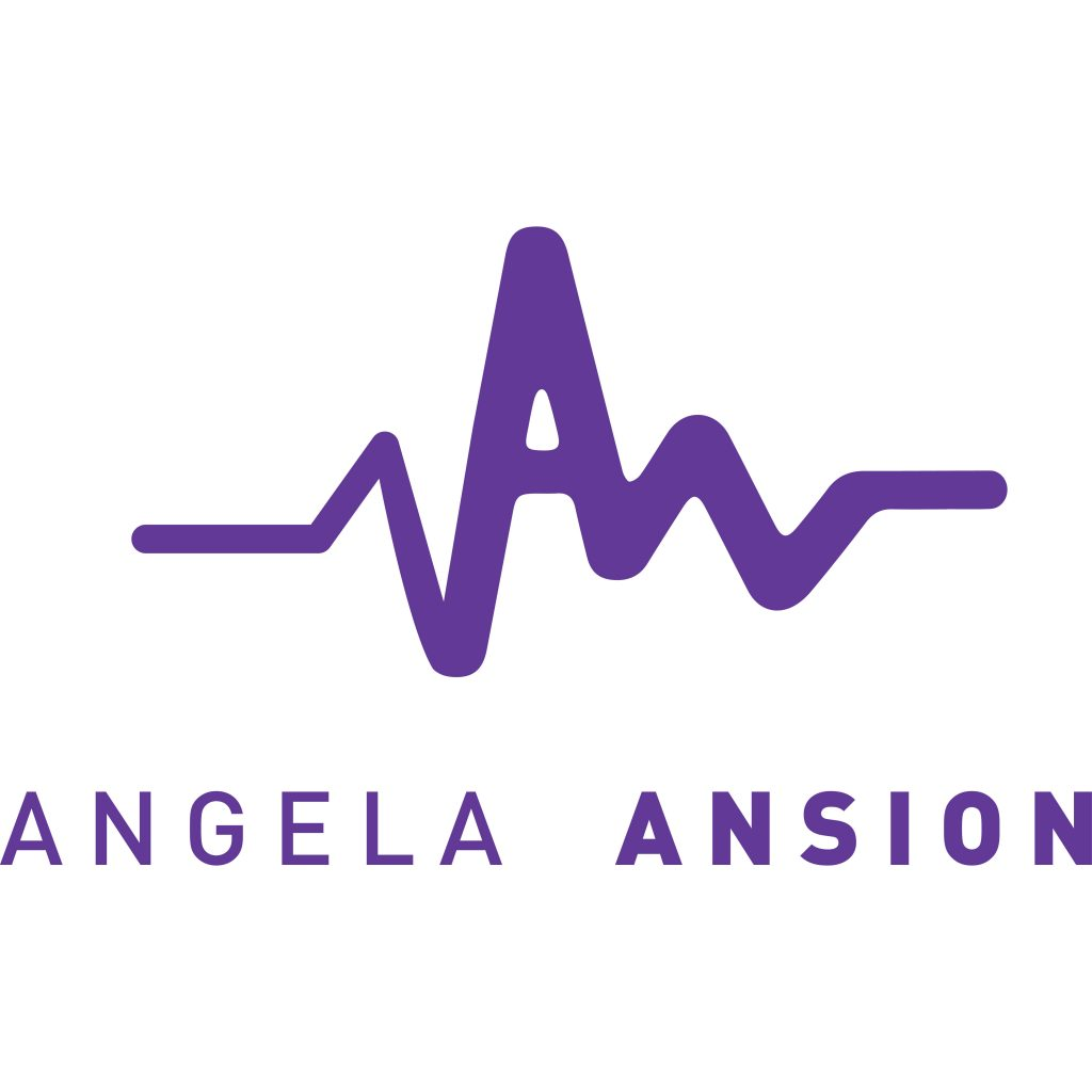 Angela Ansion Logo Purple