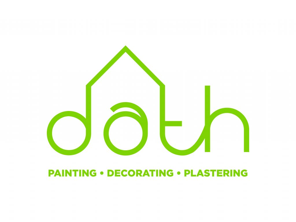 Dath logo with tagline green