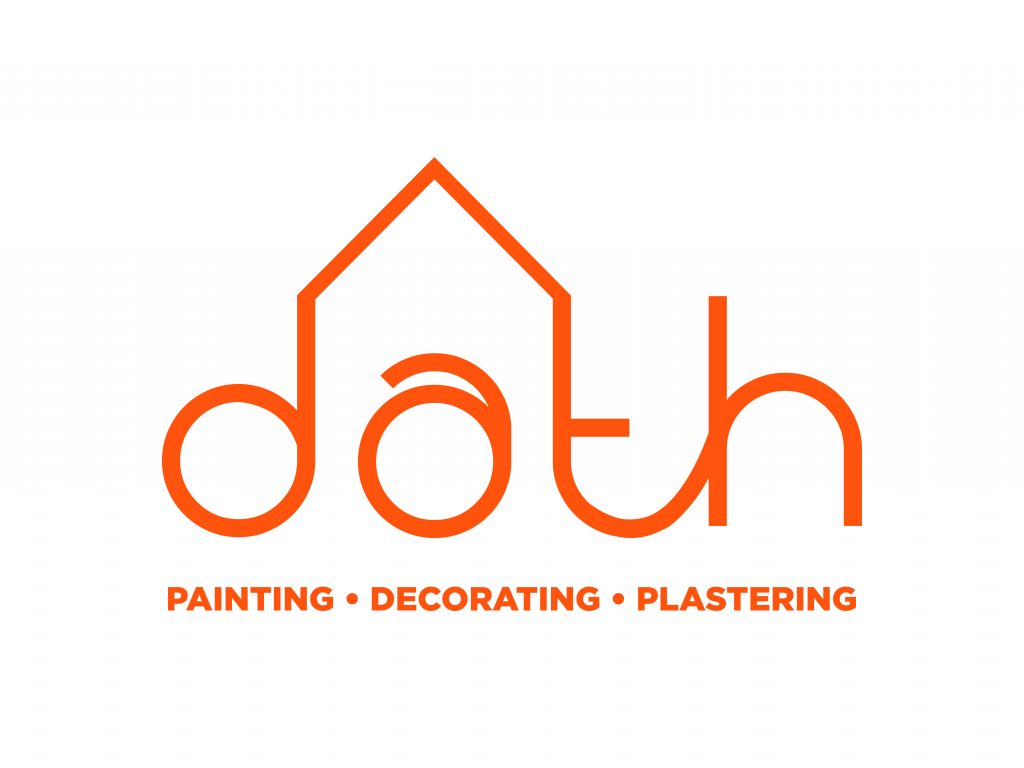 Dath logo with tagline orange