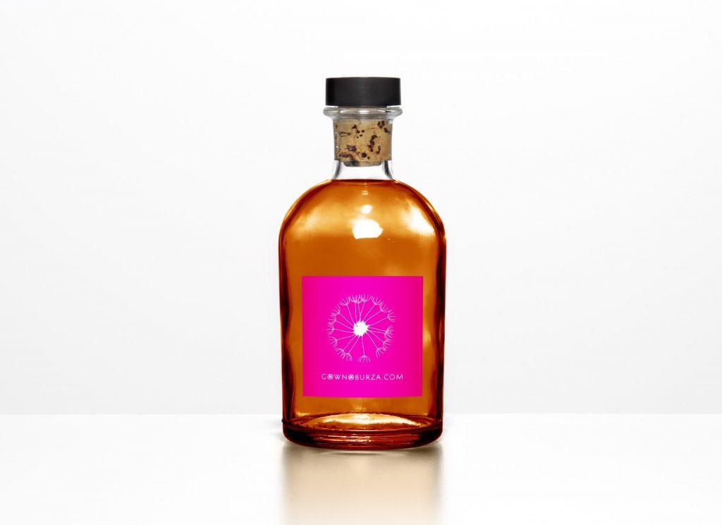Gownoburza - golden bottle