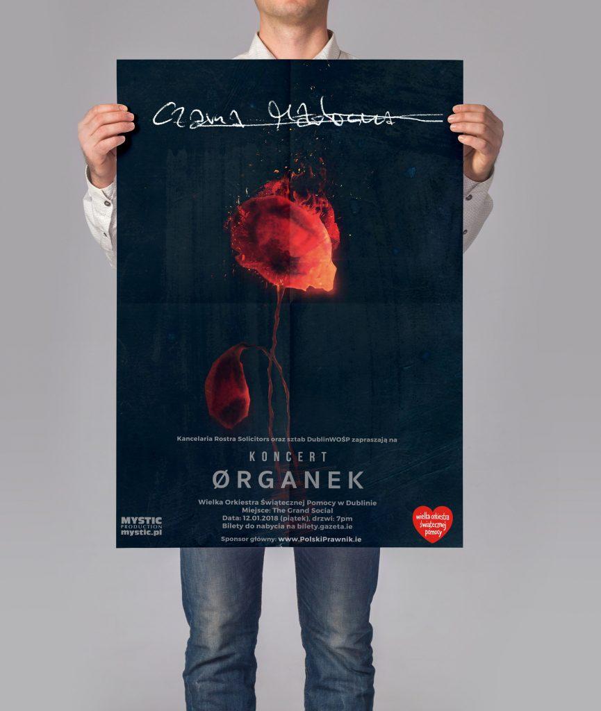 WOSP Poster Organek