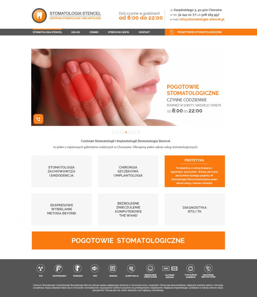 Stencel Website Design